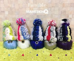 画像1: ◆Paisible×MAMEDENQ◆ モコモコノイトコ (Ver.Paisible)_2nd edition